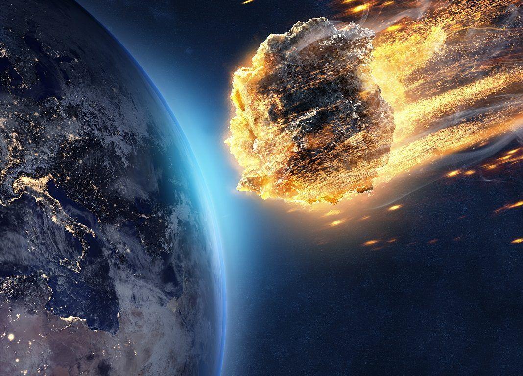 Meteorit wird Erde treffen, wir sind dem Untergang geweiht!