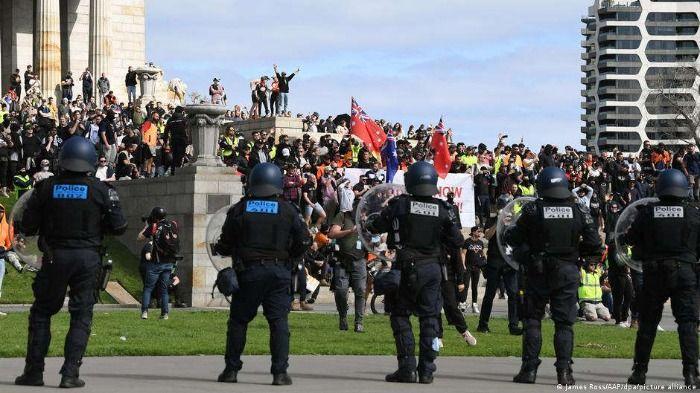 Corona löst Bürgerkrieg in Australien aus