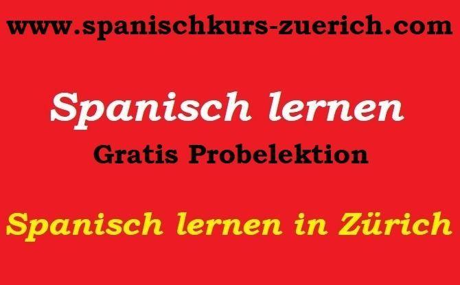 Spanisch lernen in Zürich nachrichten365 Spanischkurs