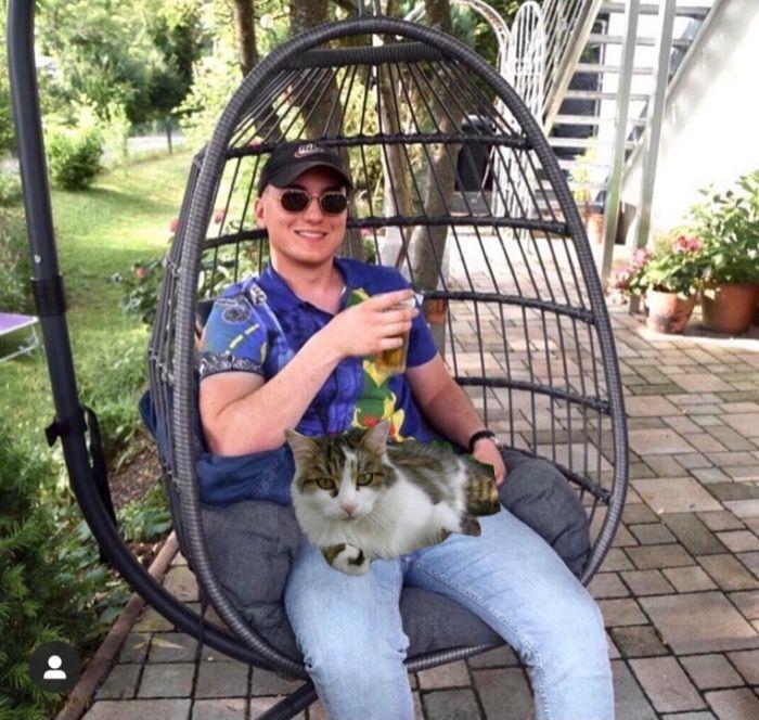 Held Ben Hensle rettet Katze aus brennendem Hochhaus