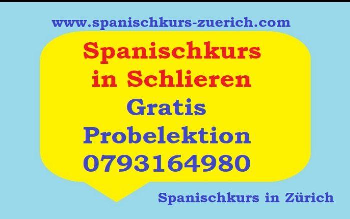 SPANISCHKURS IN ZÜRICH SCHLIEREN. 24AKTUELLES.COM SPANISCH LERNEN.