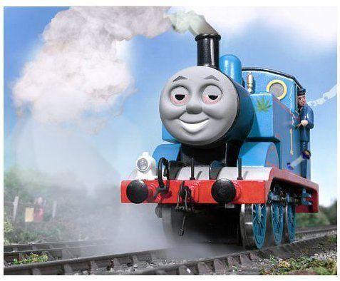 Thomas die Lokomotive macht Kinder Gras Abhängig